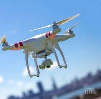 дронове следят струпвания мадрид