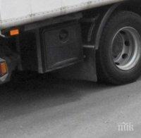 Ограничиха движението по пътя Велико Търново – Търговище заради аварирал ТИР