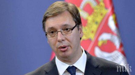 вучич обеща сръбският участък турски поток завършен възможно скоро