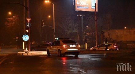 брутален среднощен екшън ботевградско шосе софия снимки