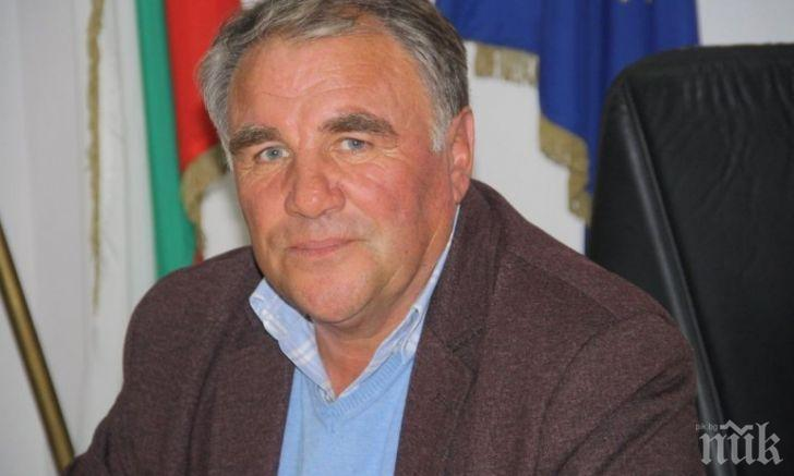 Тъжна вест: След тежко боледуване от коронавирус си отиде кметът на община Баните