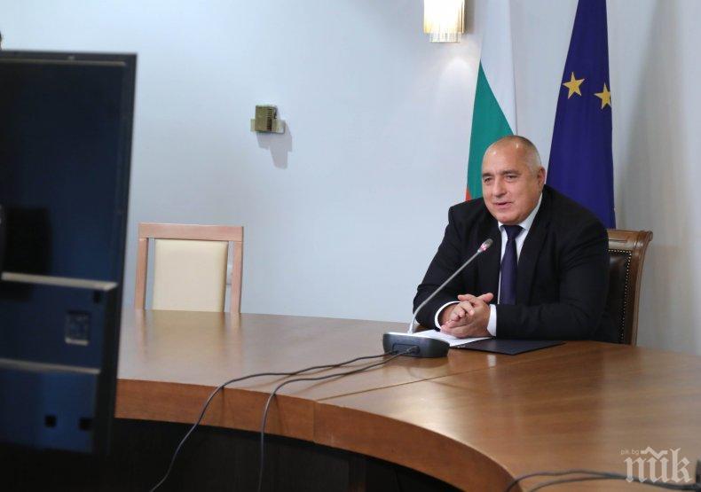 ПЪРВО В ПИК! Премиерът Борисов проведе важен разговор с председателя на Европейския съвет Шарл Мишел (СНИМКИ)