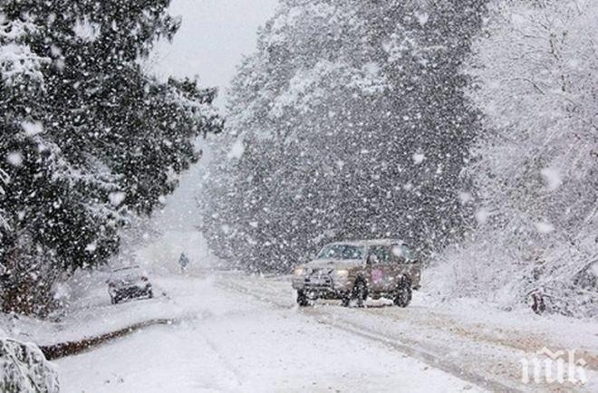 ПРЕДУПРЕЖДЕНИЕ: Жълт код за цялата страна за снеговалежи и навявания