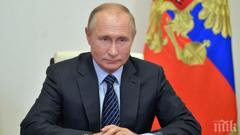 ИЗВЪНРЕДНО: Телохранител на Путин се застреля в Кремъл