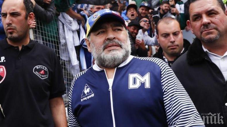 ТРОГАТЕЛНО: Последната разходка на Диего Марадона в квартала разплака света (ВИДЕО)