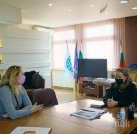 Каназирева: Студенти и стажант-лекари от Медицинския университет в Пловдив стават доброволци в COVID-отделенията