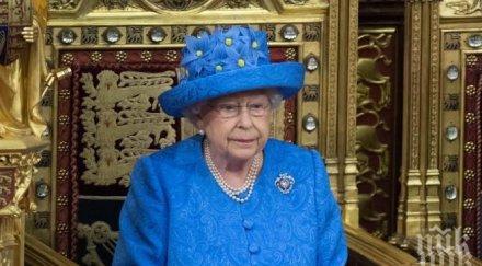 украсиха уиндзор дворецът елизабет празнува коледа първи път 1987