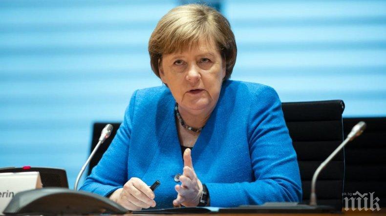 Меркел предупреди, че държавната помощ за бизнеса не може да продължава вечно