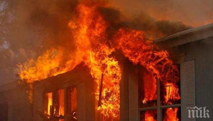 Бум на пожари в Кюстендил от началото на отоплителния сезон