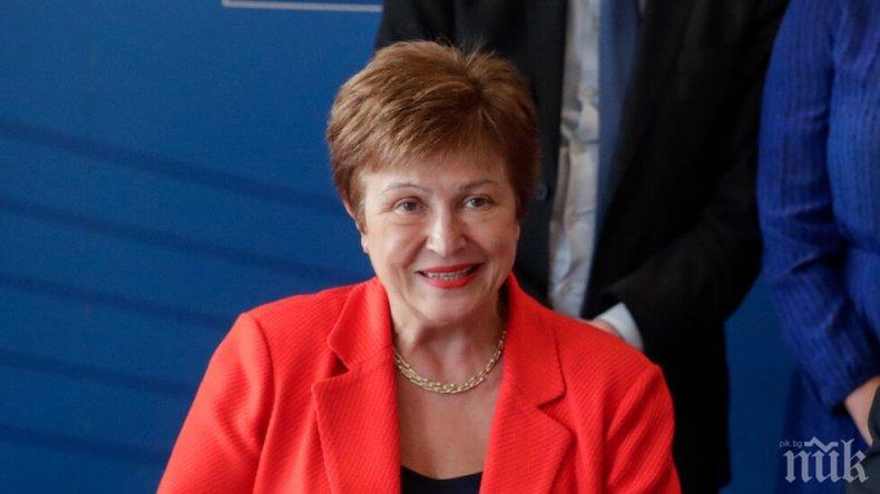 Президентът на Украйна проведе разговор с Кристалина Георгиева