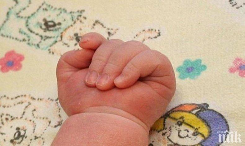 ПОДОБРЕН РЕКОРД: Проплака най-голямото бебе от началото на годината