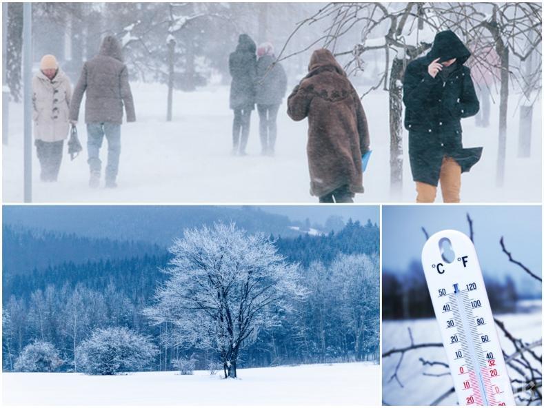 ЗИМНА ПРИКАЗКА: Студ и сняг в цялата страна, валежите спират следобед