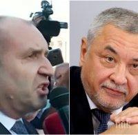 Валери Симеонов с остър коментар: Радев е един
