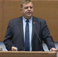 Каракачанов за проблемите с Македония: След влизането ѝ в НАТО, от нейна страна няма абсолютно никаква инициатива по договорите