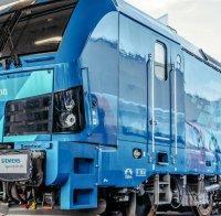 ПЪРВО В ПИК: Третият нов локомотив за БДЖ пристигна - ето на кой хан ще бъде кръстен (СНИМКА)