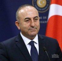 Чавушоглу е категоричен: Няма да изоставим интересите си в Източното Средиземноморие