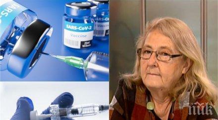 проф мира кожухарова разбирам медиците казват стойте вкъщи искат имунизират ваксините добри