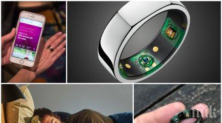 умен пръстен засича коронавирус първите симптоми