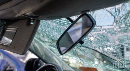 шофьор загина катастрофа магистрала тракия