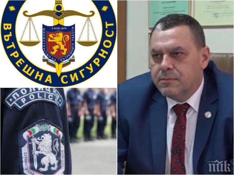 Шефът на Вътрешна сигурност Стефан Банков с шокиращи подробности за арестувани ченгета - ето какви подвизи са вършили