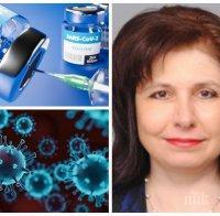 САМО В ПИК! Проф. Мурджева с горещо мнение за новия щам на коронавируса: Ще влезе в България, но не е толкова опасен - по-заразен е, но не и по-смъртоносен