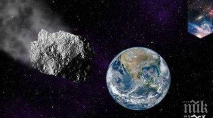 наса предупреждава опасни астероида