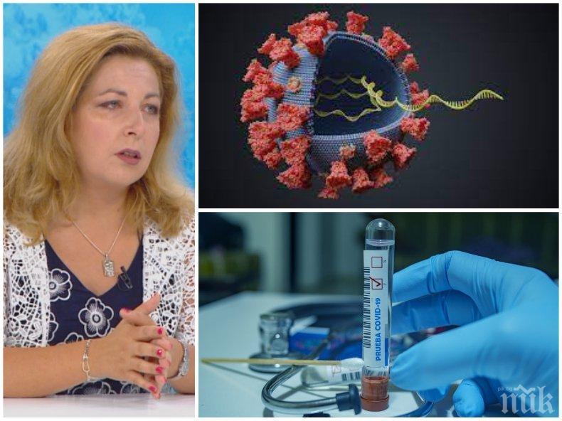 Доц. Нина Янчева разкри как ваксините се справят с COVID-19: Безопасни са, най-добрият пример е Израел