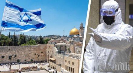 израел започна третият годината национален локдаун