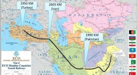 турция иран пакистан възраждат транснационалната железопътна връзка