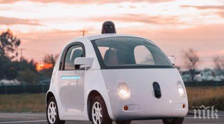 калифорния започват доставки коли без шофьор