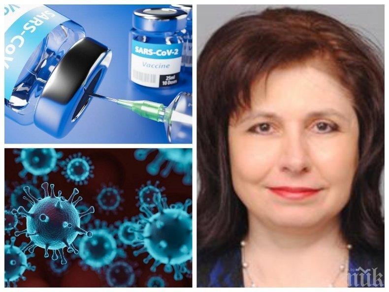 САМО В ПИК! Проф. Мурджева с ексклузивни разкрития как се определя ефективността на ваксините и кои хора с автоимунни заболявания могат да се имунизират