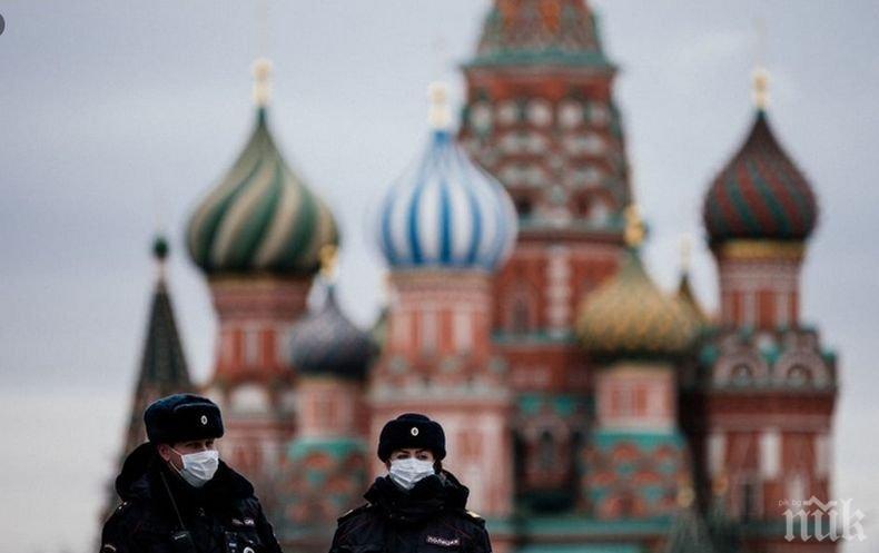 Над 8 700 новозаразени с коронавируса в Русия за денонощие