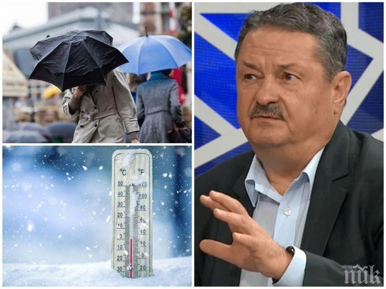 Проф. Георги Рачев разкри какво време ни очаква до края на зимата - ще има ли още сняг и студ