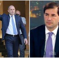 САМО В ПИК: Борислав Цеков безкомпромисен към размахващия юмруци Румен Радев: Включи се пряко в партийните борби! Превърна се в еднозначна опозиция и бетонира управляващите