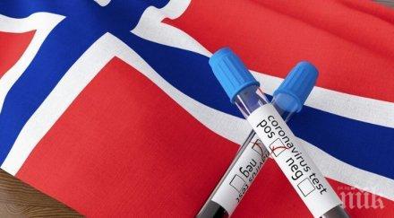 норвегия установени случая заразяване новия щам коронавируса