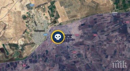 кола бомба уби петима сирия сред тях деца