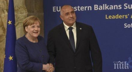 премиерът борисов поздрав меркел заедно гледаме новата 2021 година