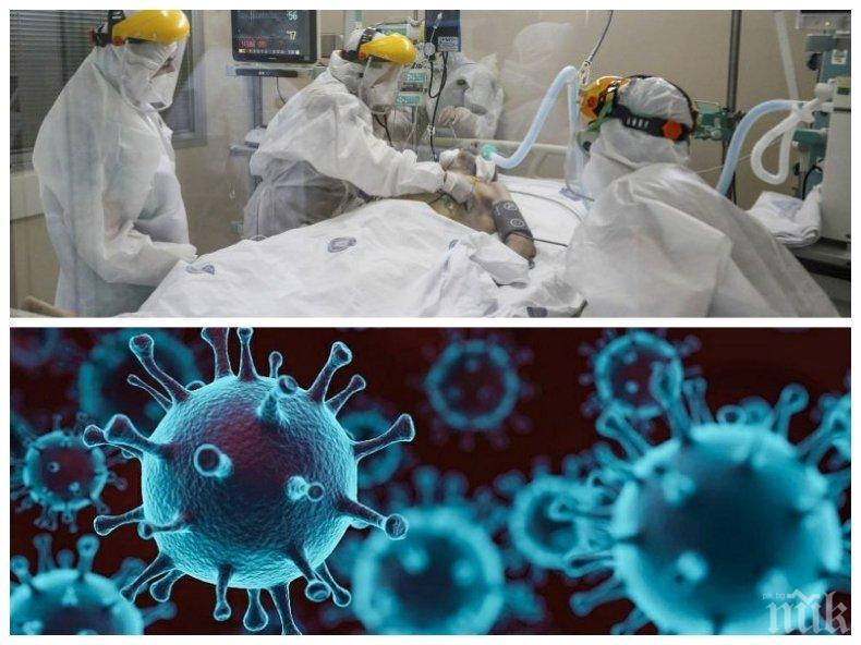 ИЗВЪНРЕДНО В ПИК: Още 22 българи без други заболявания починаха от COVID-19 - вирусът уби и 39-годишен мъж