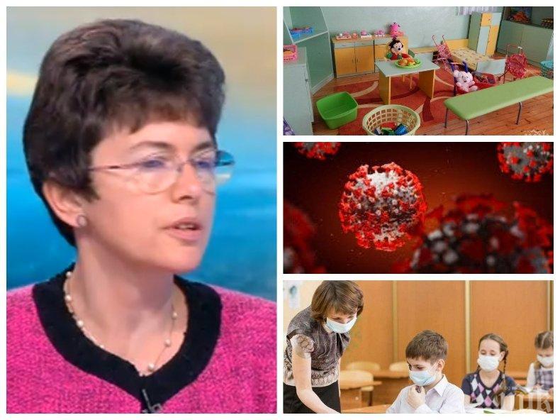 Пулмологът доц. Рада Маркова: Грипът е по-опасен за децата от COVID-19, всяка година губим между 3 и 5 от тях