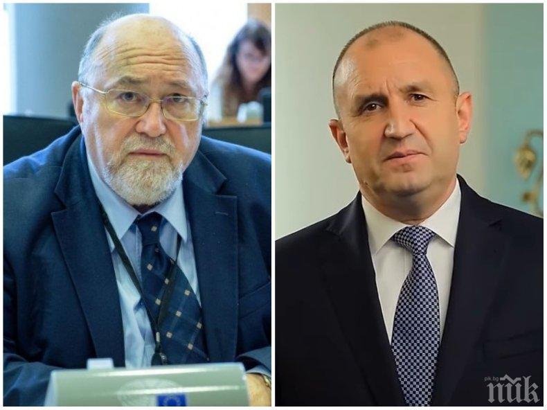 Евродепутатът Сашо Йорданов: Радев няма да спечели втори мандат, но за това ще научи, като му дойде времето