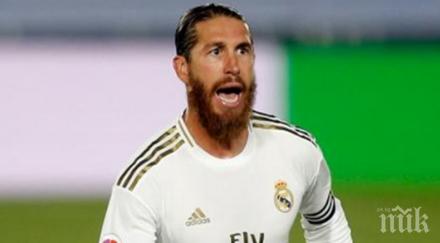 футболно торнадо серхио рамос става принц