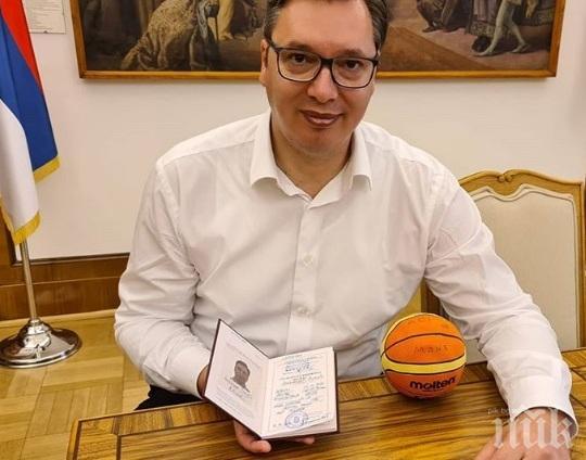 Александър Вучич: Аз съм за сегашните граници