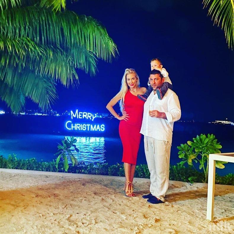 Синът на Антония Петрова стъпи на Малдивите (СНИМКИ)