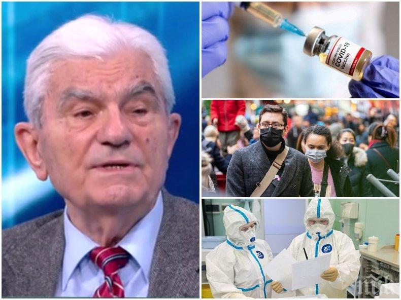 Акад. Богдан Петрунов с пълна дисекция на ваксините - какви са недостатъците и предимствата на различните видове и опасни ли са имунизираните за околните