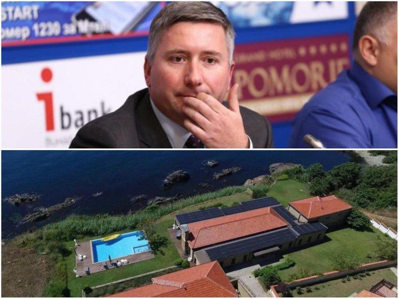 ДПС подхвана морския палат на Прокопиев, питат Ревизоро дали е законен