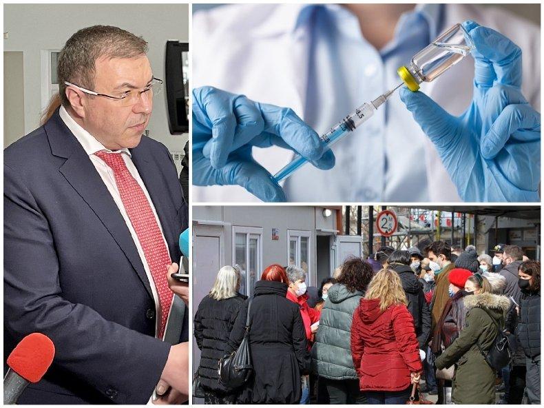 ПЪРВО В ПИК TV: Здравният министър Костадин Ангелов с извънредни новини: 318 центъра имунизират хиляди ежедневно (ОБНОВЕНА)