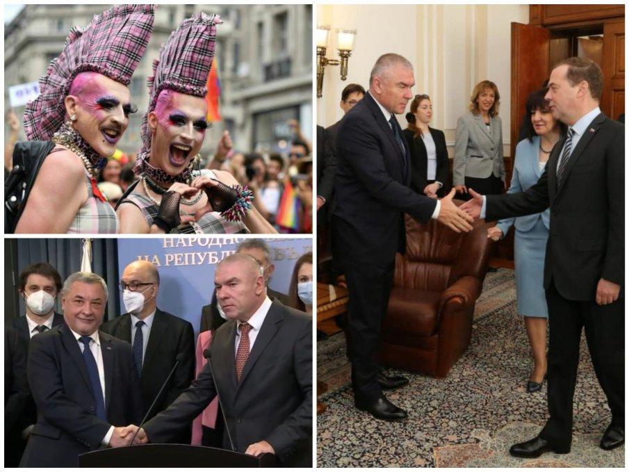Веселин Марешки пред ПИК: Кланящи се на чужди столици политици ни натрапват трети пол и премахване на майката и бащата - с НФСБ сме за християнските ценности