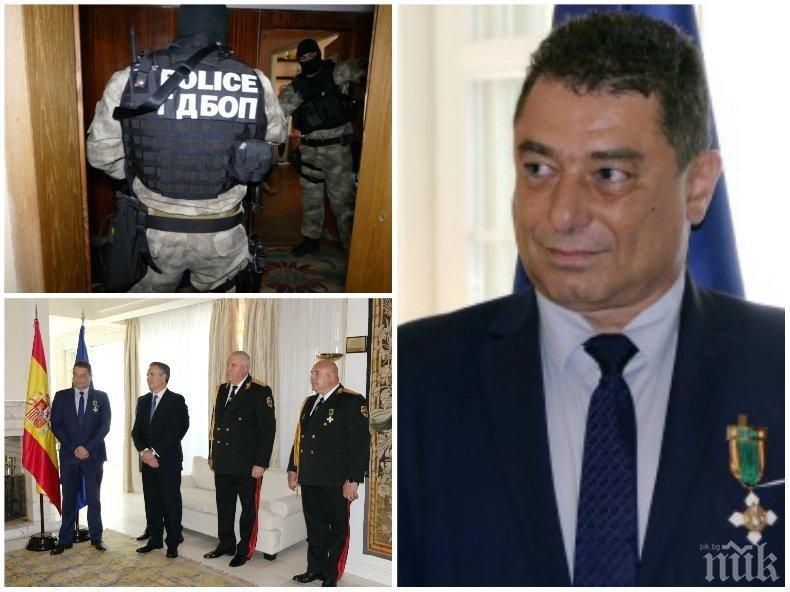 Спецпрокуратурата даде на съд бившия шеф в ГДБОП Цветан Панков, спуснал чадър над наркогрупа
