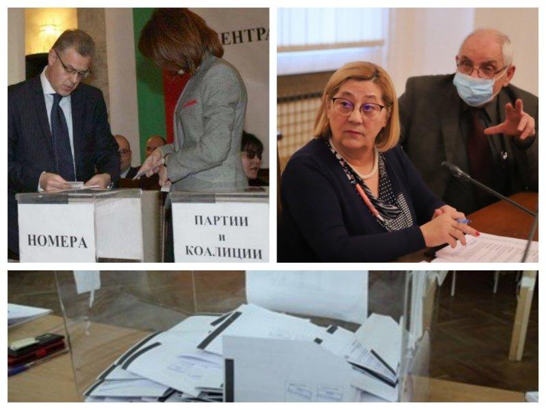 ИЗВЪНРЕДНО В ПИК TV! ЦИК изтегли жребия за изборите на 4 април - ето коя партия с кой номер ще е (ВИДЕО/ОБНОВЕНА)