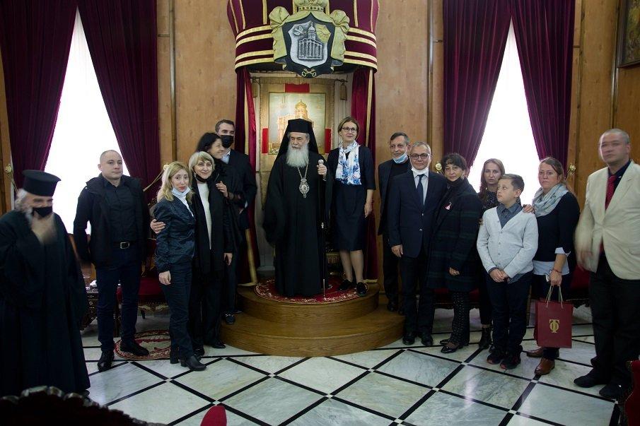 Предстоятелят на Православната Ерусалимска патриаршия благослови България по случай националния ни празник (СНИМКИ)